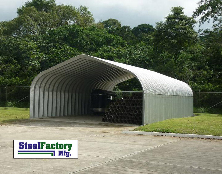 Atv Metal Carports : Steel residential carport p pitched roof atv