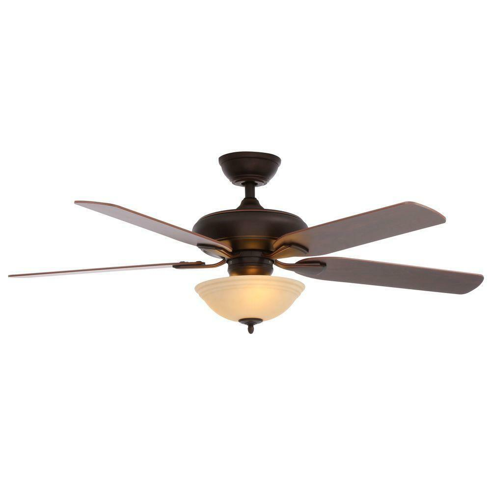 Hampton Bay Ceiling Fan Replacement Parts: Flowe 52 In. Mediterranean Bronze Ceiling Fan Replacement