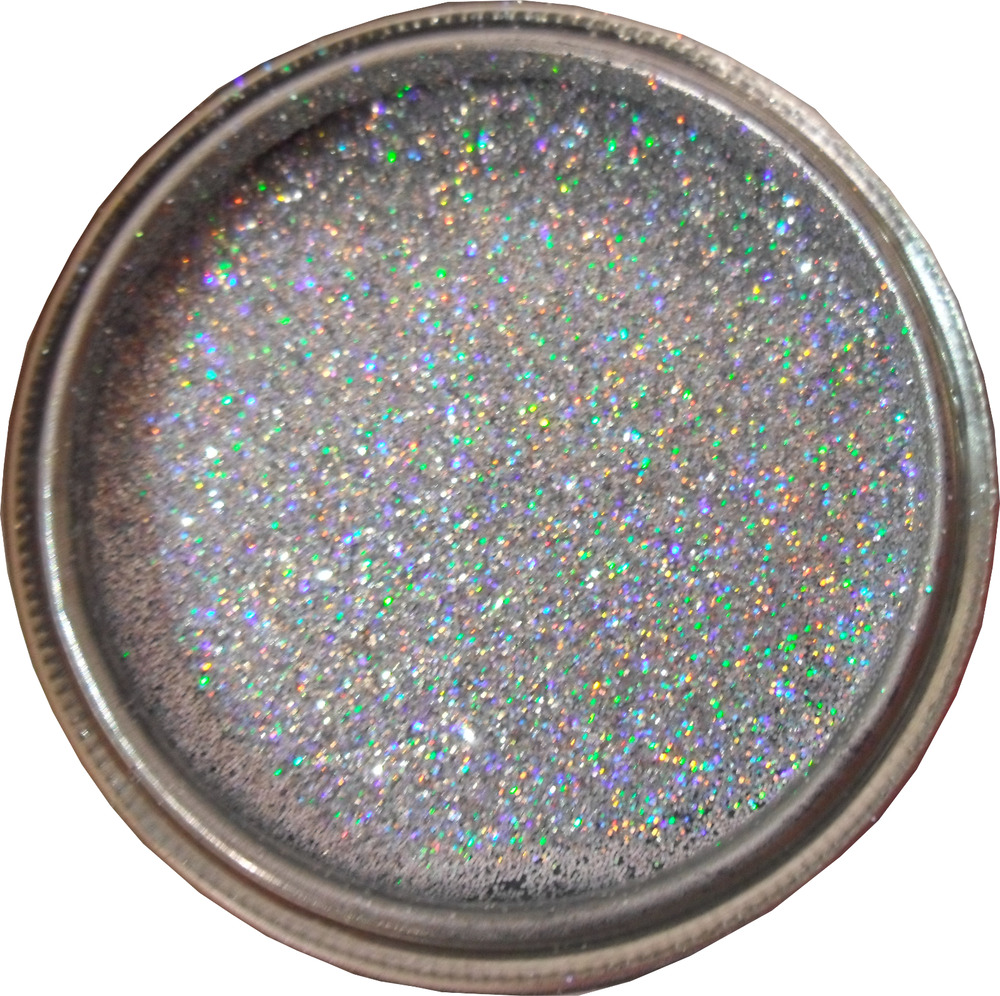 Silver Rainbow Sparkle Glitter Paint Glaze For Bathroom
