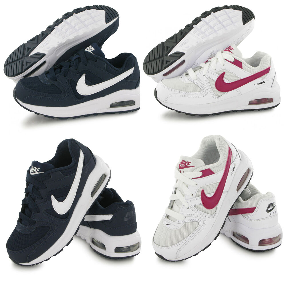 Nike Air Max Command Leather Kids Trainers Boys Girls Kids Sports School  Shoes  3e3baf23cd5