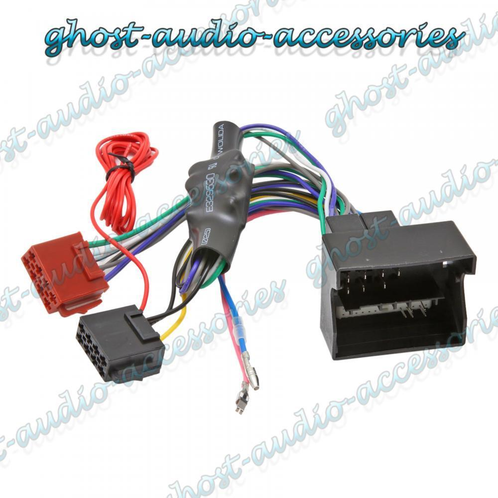 Audi A3 Amplified Quadlock Iso Radio Stereo Harness
