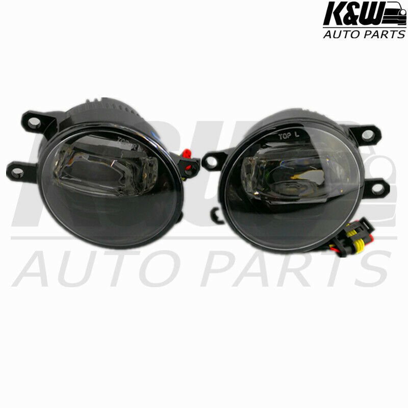 details about led fog light kit for toyota tarago acr50 1/06- 2 in 1 with  wiring & switch