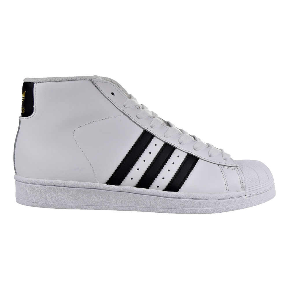 f94ed239cd4 Details about Adidas Pro Model Women s Shoes White Black Gold Metallic  by2776