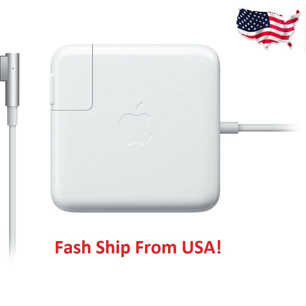 Used Macbook Pro Charger: Genuine OEM Apple 60W Magsafe 1 AC Adapter Charger For 13