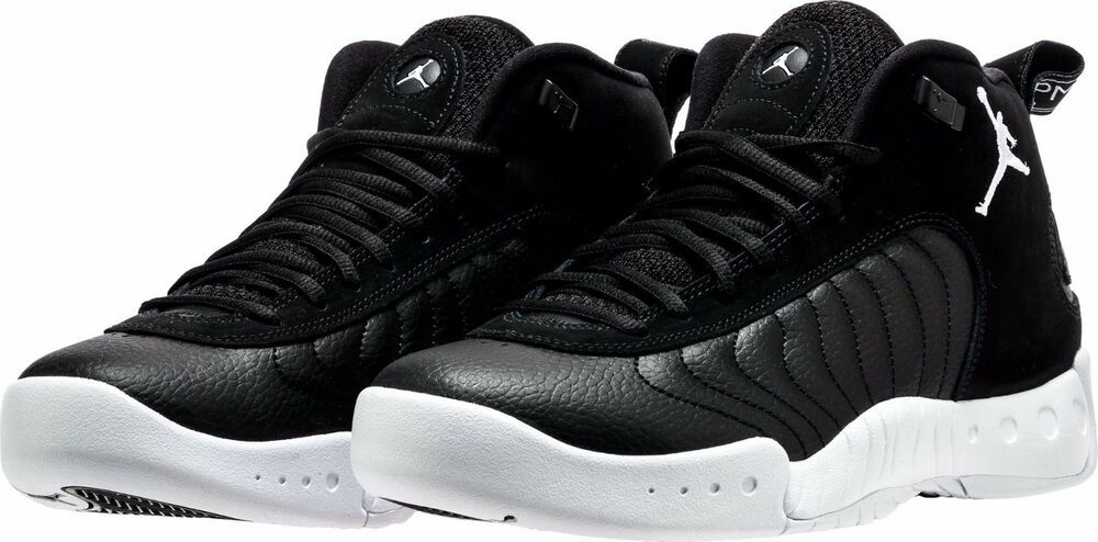 wholesale dealer b1305 ac6cf ... 906876-010 MENS AIR JORDAN JUMPMAN PRO MID BASKETBALL BLACK WHITE NIB  SZ 8- ...