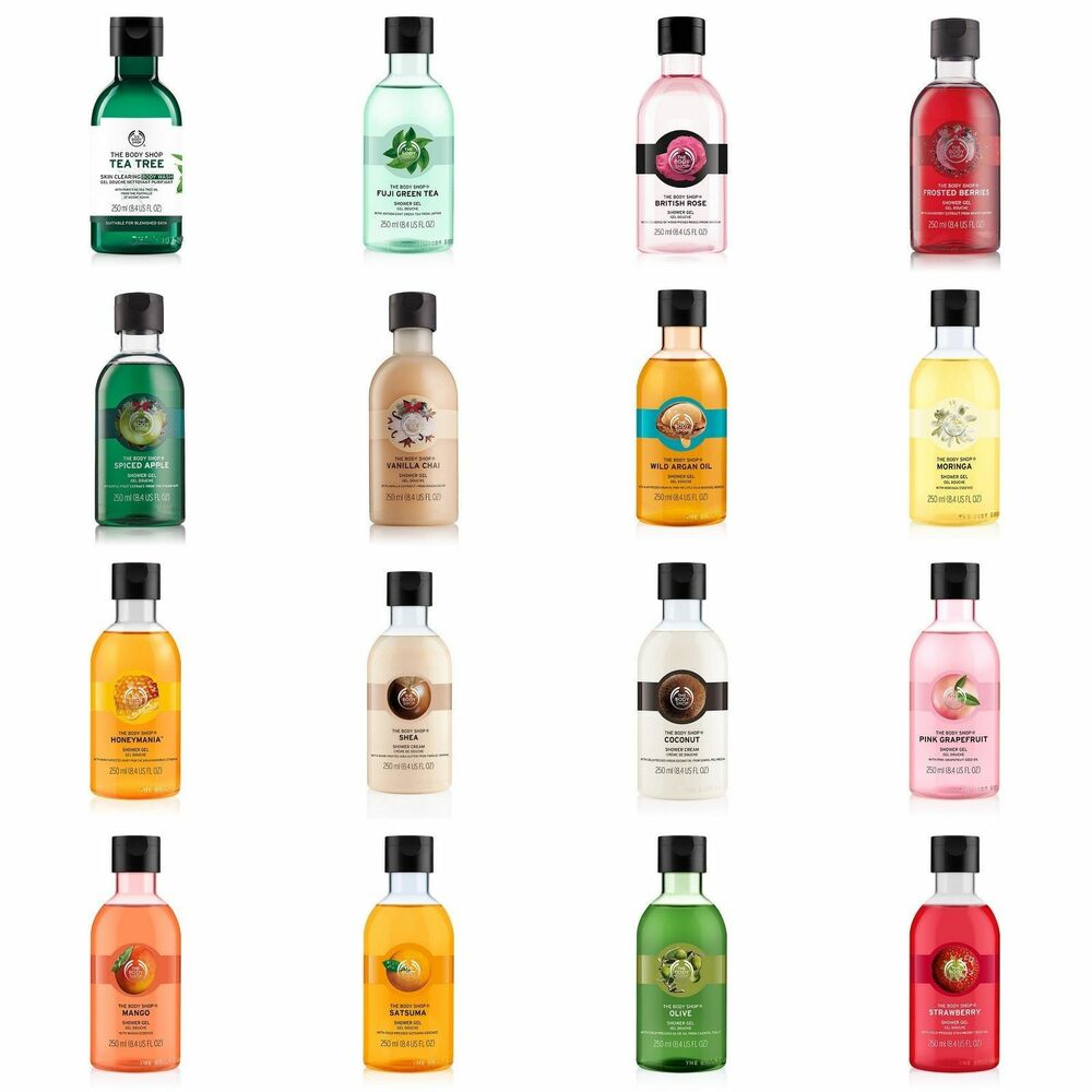 The Body Shop Shower Gel Shower Cream 250ml Choose
