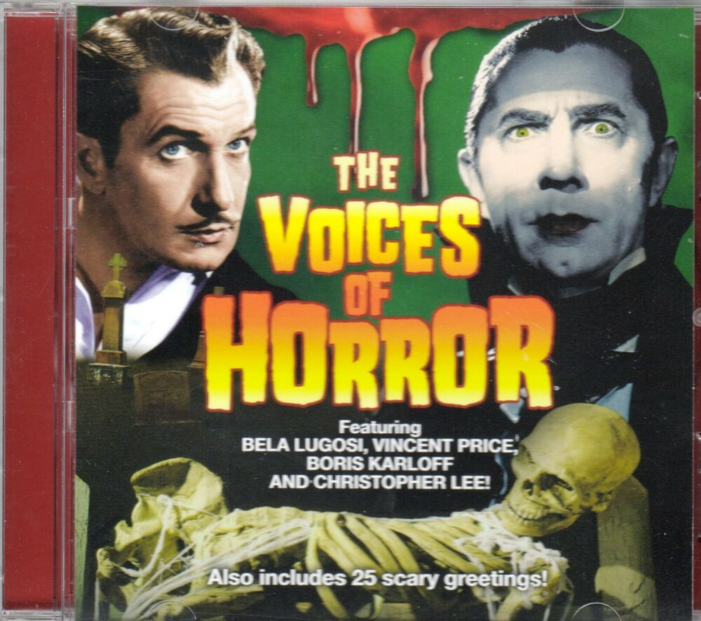 The Voices Of Horror Classic Halloween Movie Lines Sound Effects