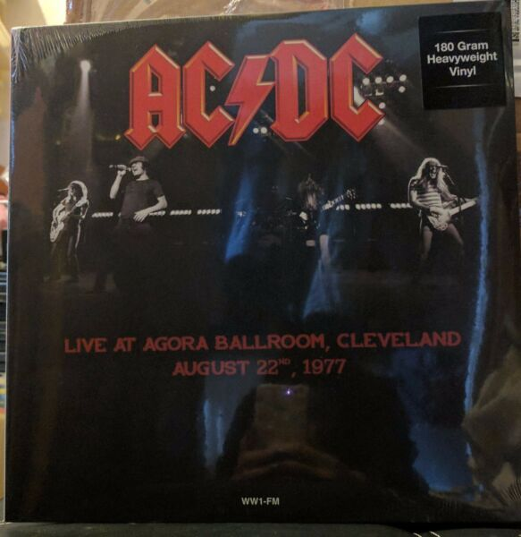 AC / DC - LIVE CLEVELAND 1977 180 GRAM VINYL LP  NEW MINT UNPLAYED