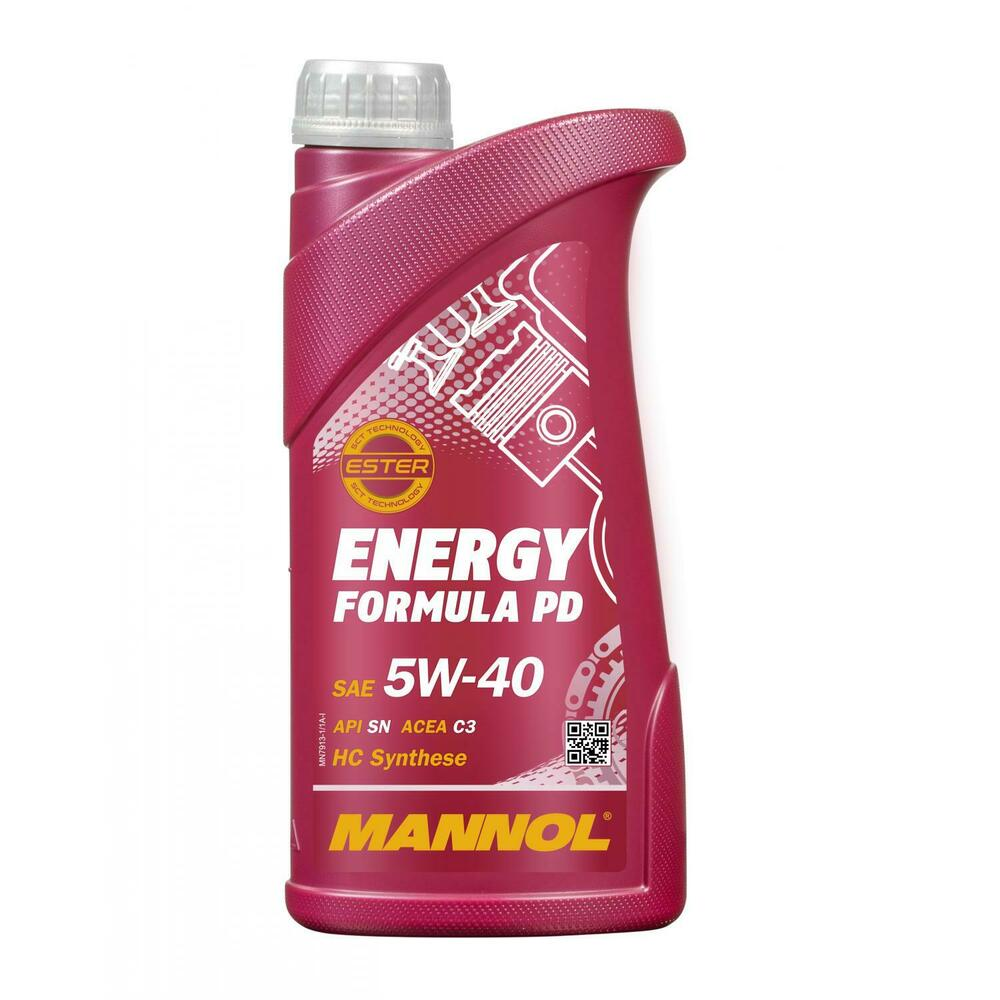 1 1x1 liter mannol 5w 40 energy formula pd motor l f r acea c3 api sn sm cf ebay. Black Bedroom Furniture Sets. Home Design Ideas