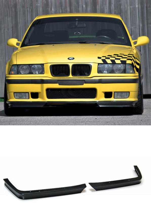 1992 99 bmw e36 m3 front bumper lower bottom velocity gt. Black Bedroom Furniture Sets. Home Design Ideas