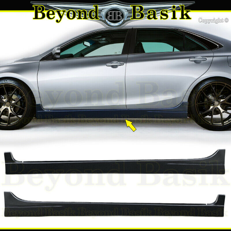 2016 Toyota Camry Pictures: 2015 2016 2017 TOYOTA CAMRY Side Skirts Body Kit 2Pc Set