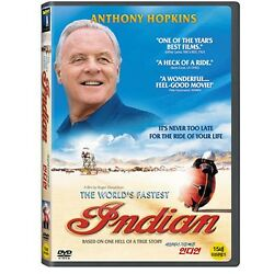 The World's Fastest Indian (2005) / Anthony Hopkins / DVD, NEW