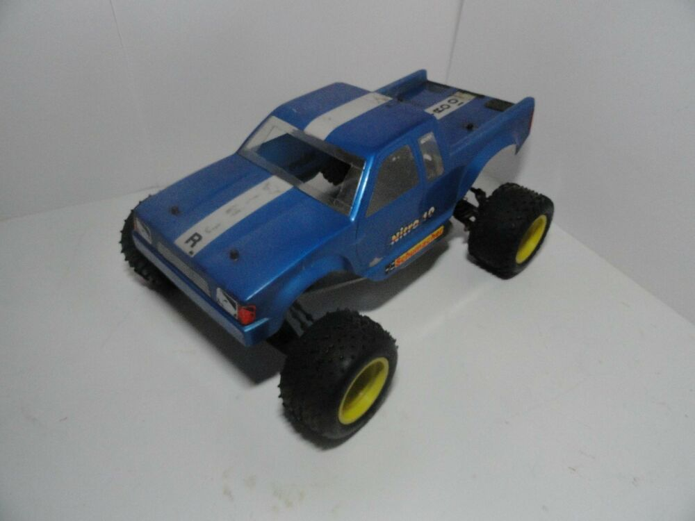 vintage schumacher nitro 10 rc truck 1 10 2wd car truggy. Black Bedroom Furniture Sets. Home Design Ideas