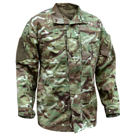 img-British Army Jungle Jacket Combat Temperate Weather MTP Multicam Shirt PCS