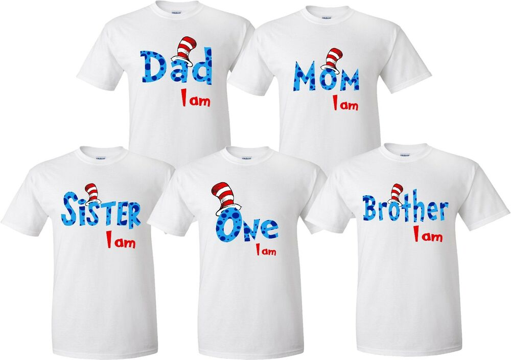 Details About Matching Family Birthday T Shirts Nice Cute New Kids Adults