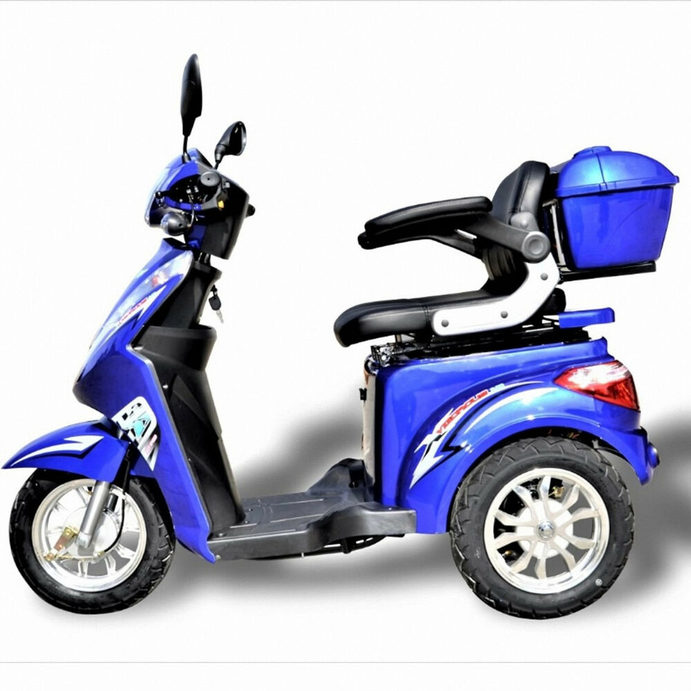 dreirad scooter seniorenmobil eco engel 501 1000 watt elektro mobil blau met ebay. Black Bedroom Furniture Sets. Home Design Ideas