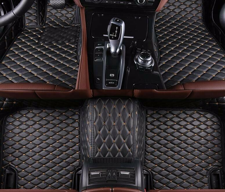6 Colors Leather Floor Mats For Bmw 3 Series E90 4 Doors 2005 2012 Carpets Liner Ebay