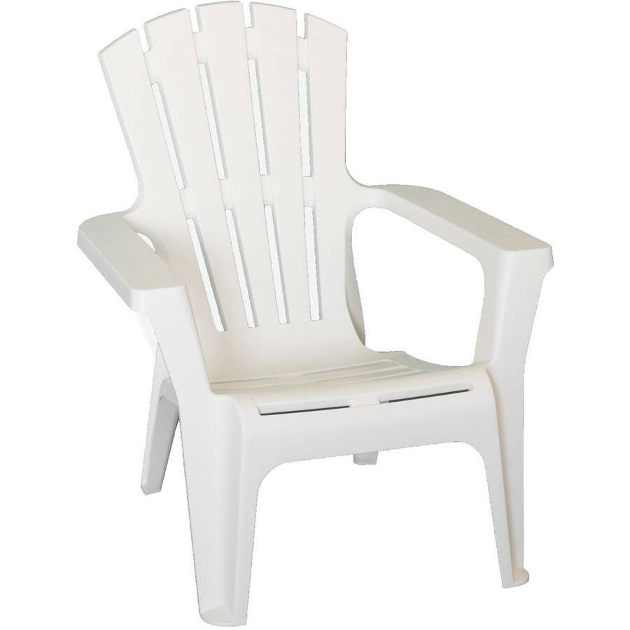 Etonnant Details About White Outdoor Polypropylene Durable Outdoor Adirondack Chair  All Weather Proof