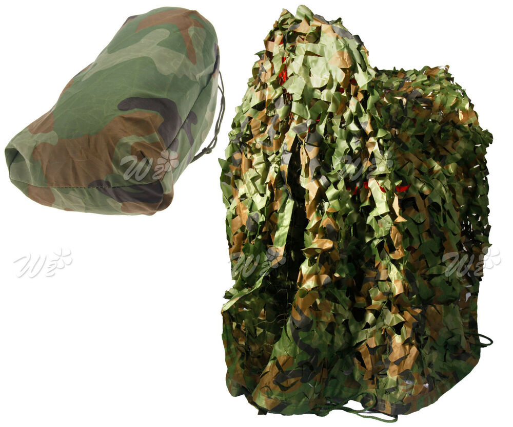 3m X 7ft Camouflage Camo Net Netting Hunting Shooting Army