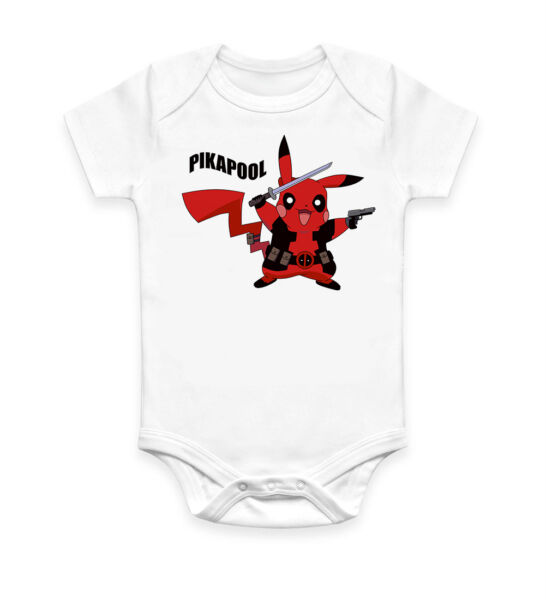 9b5eddc6 Funny Pikapool Cool Baby Grow Body suit Baby Suit Ideal Gift Unisex 2884