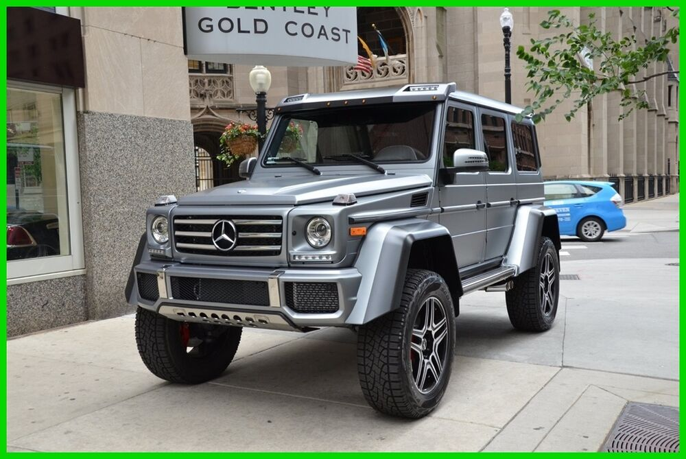 2017 mercedes benz g class g 550 4x4 squared ebay. Black Bedroom Furniture Sets. Home Design Ideas