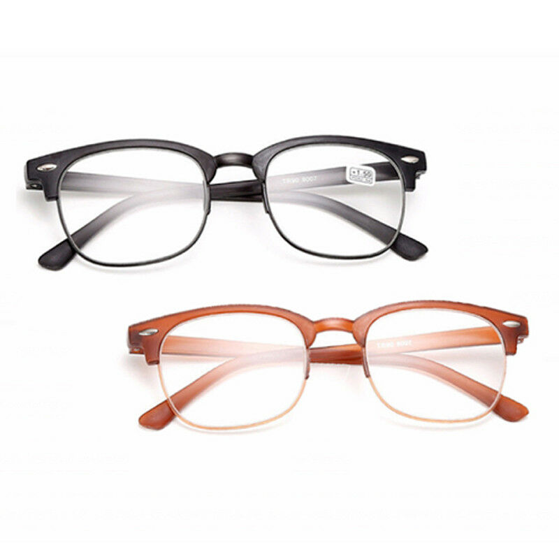 8043e7e28f Details about New Retro Men Women Reading Glasses Full Frame Eyewear  Eyeglasses +1.0 To +4.0