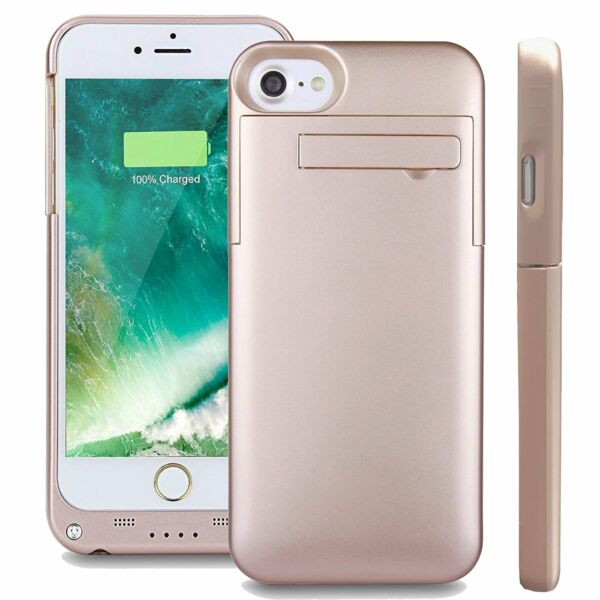 For iPhone 8 7/6/6S Plus Battery Case External Power Bank Charger Charging Cover