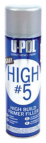 U-POL  High #5 - High Build Primer, Gray, 15oz UPL-UP0791