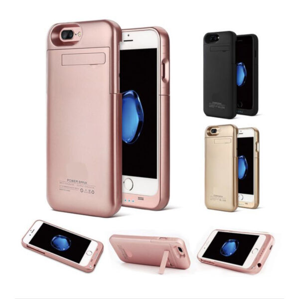 External Portable Battery Charger Power Case Cover for iPhone 6S Plus iPhone 8 +