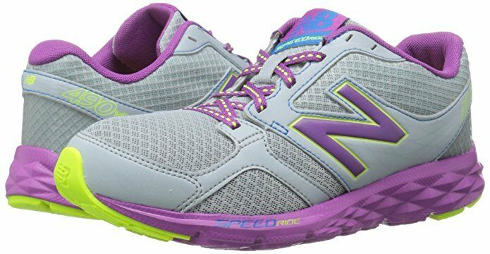 Womens Shoes New Balance W490V3 Silver/Purple