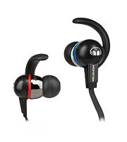 Monster iSport Immersion w/ ControlTalk In-Ear Only Headphones - Blue