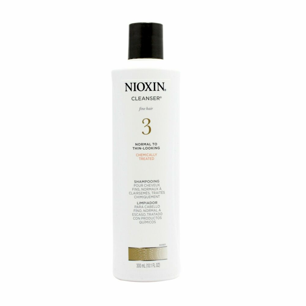 Health & Beauty Nioxin System 5 Cleanser Normal To Thin-looking Chemically Treated Shampoo 10.1 Skin Care