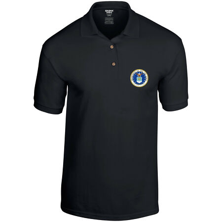 img-Department of the Air Force US Air Force United States Military Mens Polo Shirt