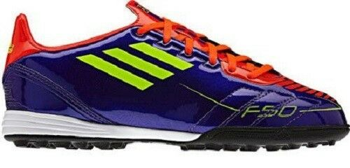 new product cc54b 25783 Details about Adidas F10 TRX TF J Kids Soccer Shoes Football Boots Trainers  purple G40280 SALE