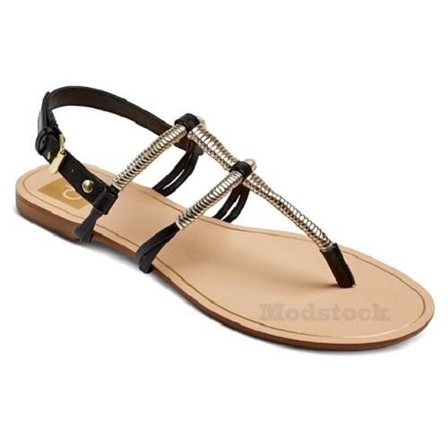8161ea06c3e9 Details about Womens DV for Target by Dolce Vita Flynn Thong Sandal NWOB C73