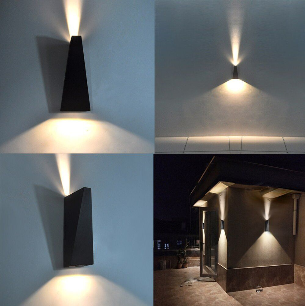 Modern 7w Indoor Outdoor Wall Lights Led Lighting Up Down