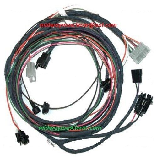 rear body light wiring harness 62 1962 chevy chevrolet. Black Bedroom Furniture Sets. Home Design Ideas