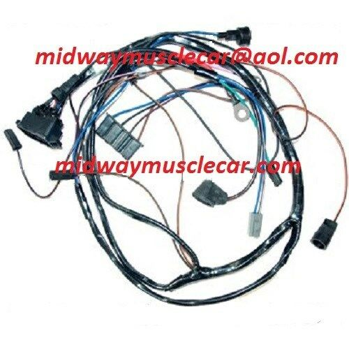 Engine Wiring Harness V8 65 Pontiac Gto Lemans Tempest Automatic