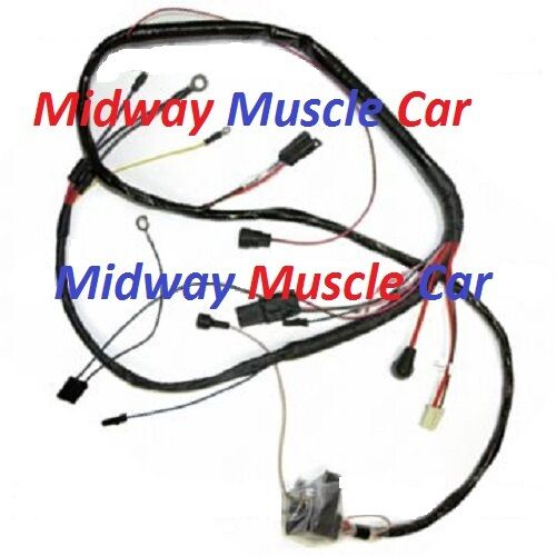engine wiring harness 71 72 buick gran sport skylark gs ebay. Black Bedroom Furniture Sets. Home Design Ideas