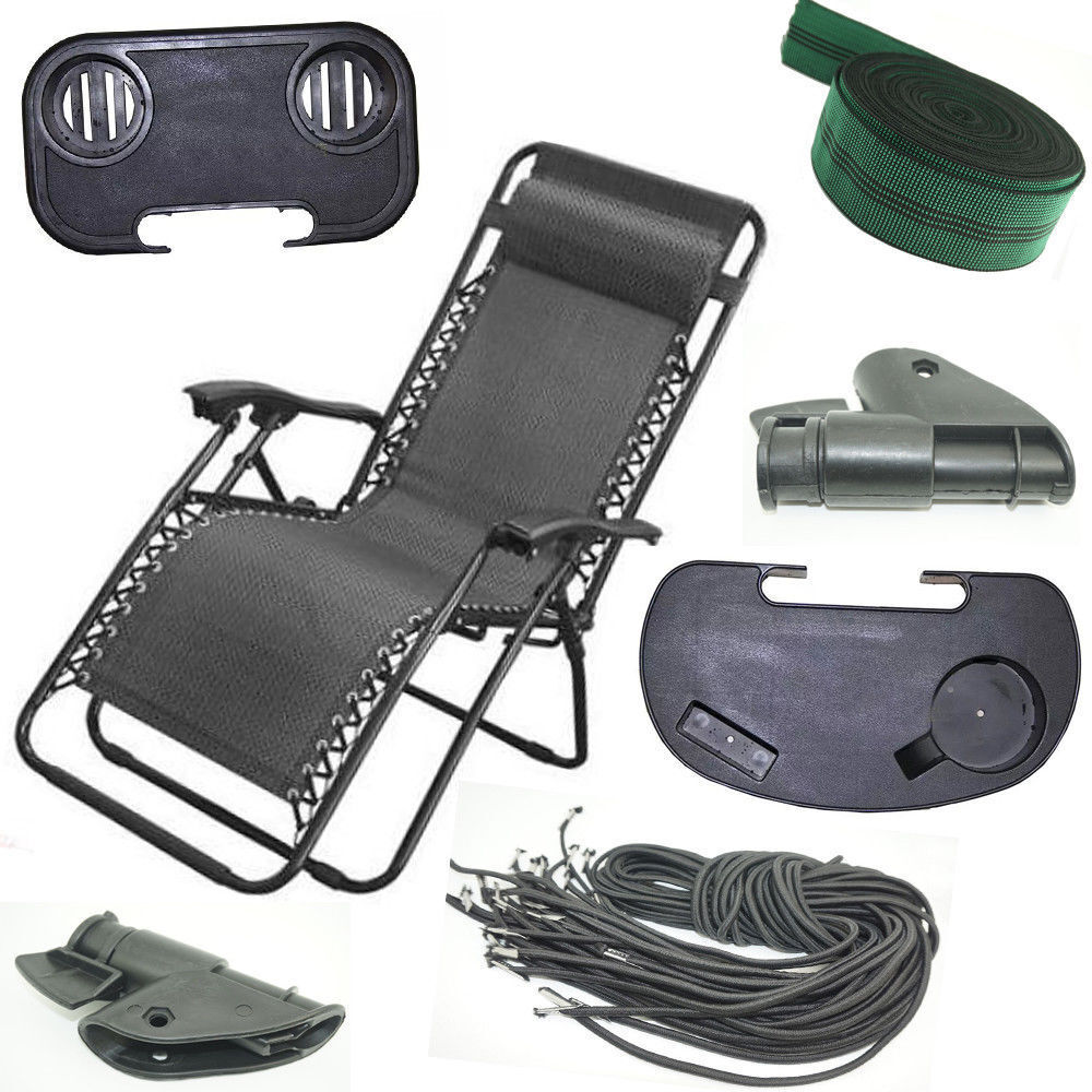 Zero Gravity Outdoor Portable Foldable Reclining Lounge