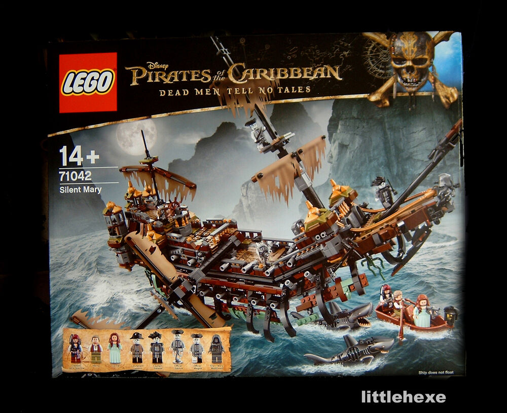 lego 71042 fluch der karibik geisterschiff silent mary pirates caribbean neu ovp ebay. Black Bedroom Furniture Sets. Home Design Ideas
