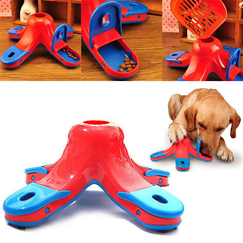 Dog Puppy Food Treat Dispensing Boredom Interactive Game