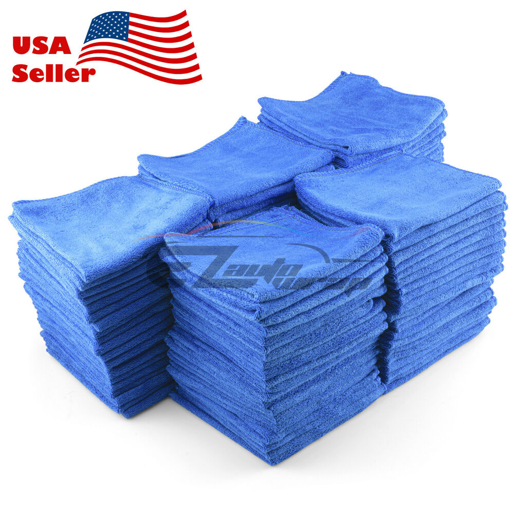 Microfiber Cloth Remove Scratches: Microfiber Cleaning Cloth Towel Rag Car Polishing No