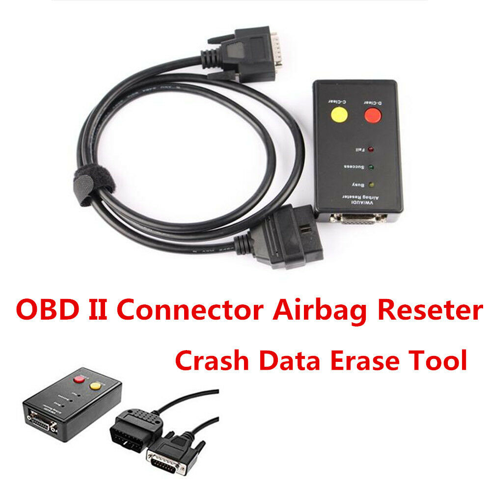 Portable Obd Ii Connector Airbag Reseter And Crash Data Erase Tool Audi Wiring For Vw 4814554757404 Ebay