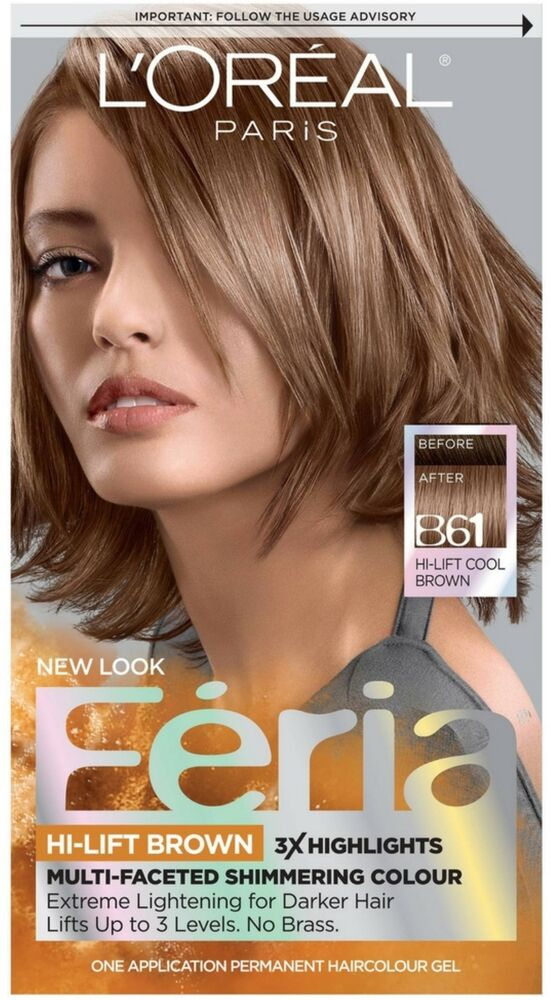 L Oreal Feria Permanent Hair Colour Cool B61 Hi Lift