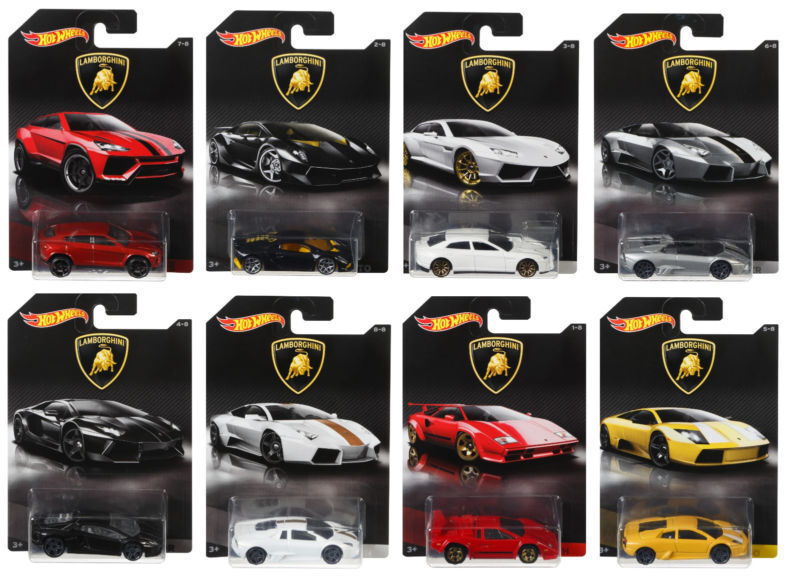 hot wheels lamborghini diecast collection cars dwf21 scale. Black Bedroom Furniture Sets. Home Design Ideas