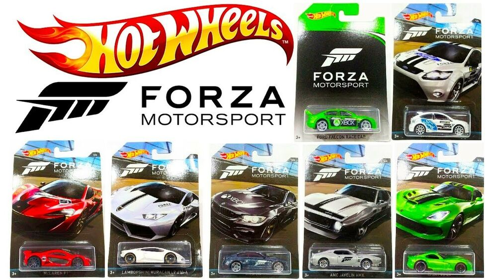 Forza 7 Car List >> HOT WHEELS XBOX FORZA MOTORSPORT DIECAST COLLECTION CARS DWF30 SCALE 1:64 SET   eBay