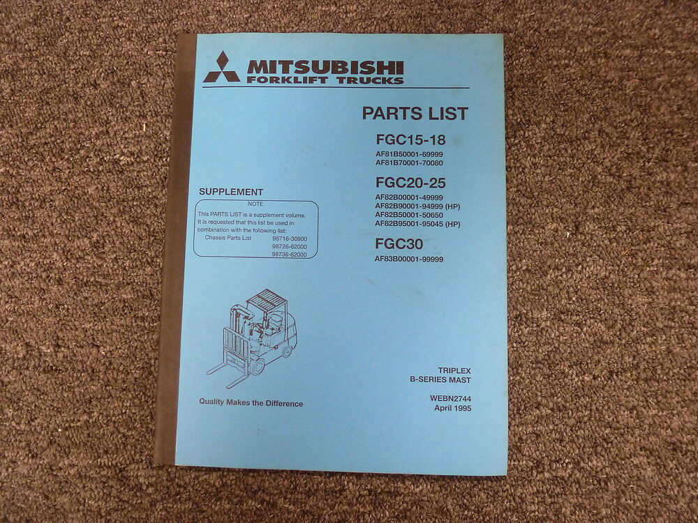 Mitsubishi Fgc15 Schematic - Example Electrical Wiring Diagram •