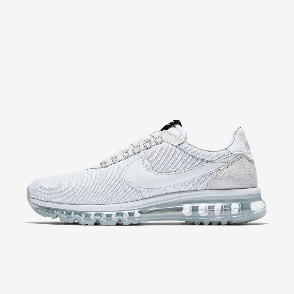 online retailer 26170 2cd73 Details about NIKE AIR MAX LD-ZERO 848624 004 PURE PLATINUM/COOL GREY-SAIL  WHITE - MESH/SUEDE