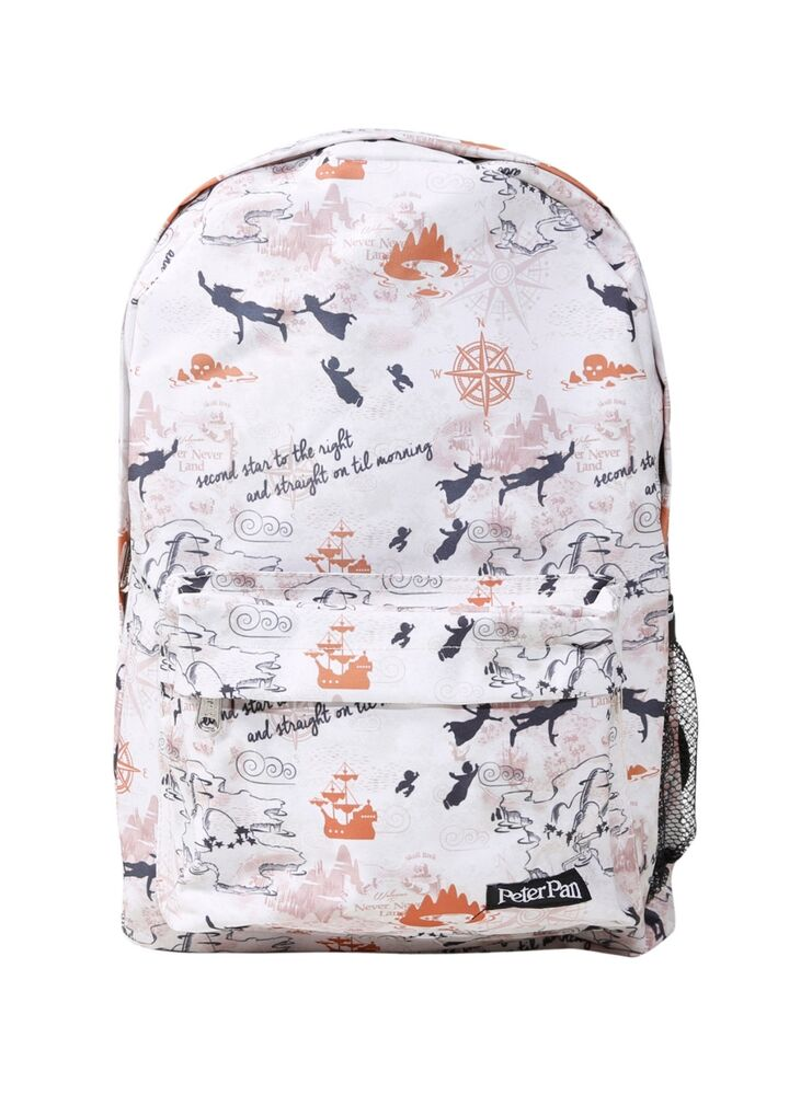 Map backpack ebay new disney peter pan neverland map backpack loungefly gumiabroncs Choice Image